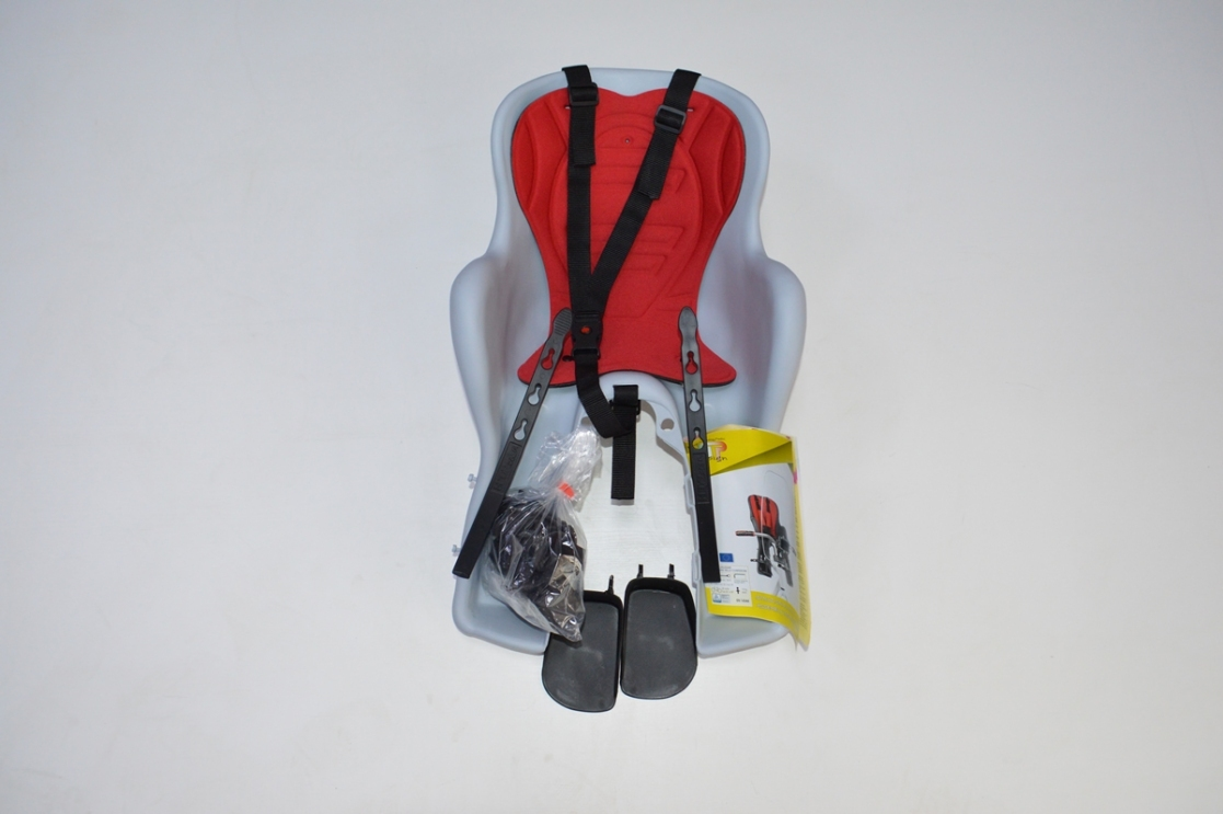 Велокресло Kiki deluxe детское переднее на раму, код 92070711